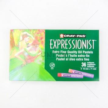 SAKURA สีชอล์ค EXPRESSIONIST 36 สี XLP36 <1/1>