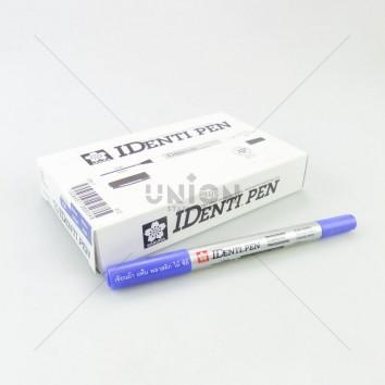 SAKURA ปากกาเขียน CD 2 หัว IDENTIPEN XYKT #36 <1/12> น้ำเงิน