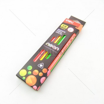 deli ดินสอไม้ 2B ด้ามสามเหลี่ยม U518 00 แพ็ค 12 ด้าม <1/12>