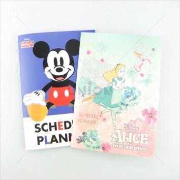 Disney สมุด Free Planner A5 ลายลิขสิทธิ์ <1/12>