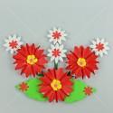 กอหญ้า ดอกไม้แต่งบอร์ด เบอร์ 020 <1/10>