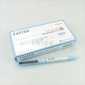 Faster ปากกาโรลเลอร์ ปลอก 0.5 CX-716 SB <1/12> สีฟ้า