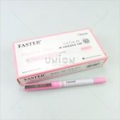 Faster ปากกาโรลเลอร์ ปลอก 0.5 CX-716 PI <1/12> สีชมพู