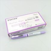 Faster ปากกาโรลเลอร์ ปลอก 0.5 CX-716 PR <1/12> สีม่วง