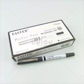 Faster ปากกาโรลเลอร์ ปลอก 0.5 CX-716 BK <1/12> สีดำ