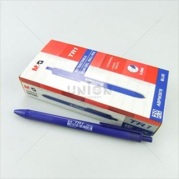 M&G ปากกาหมึกน้ำมัน กด 0.5 TR1 ABPW3078 <1/20> สีน้ำเงิน