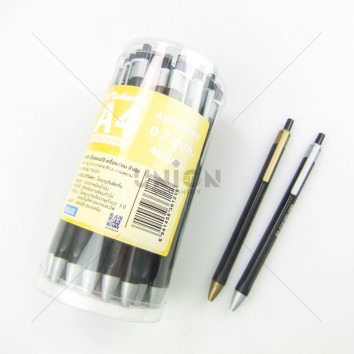 M&G ปากกาหมึกน้ำมัน กด 0.7 A4 ABPW30R4 <1/40> สีน้ำเงิน