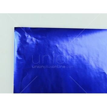 กระดาษอังกฤษ ม้วน <1/25> สีน้ำเงิน