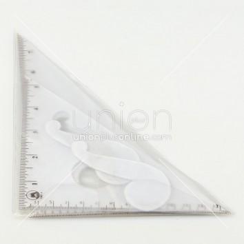 ORCA ไม้ฉาก PVC 8นิ้ว <1/12>