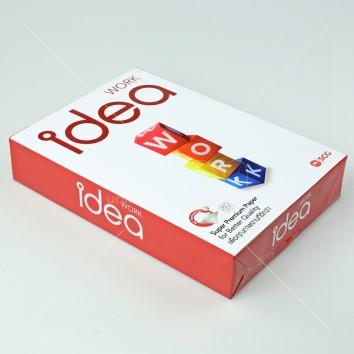 IDEA WORK กระดาษถ่ายเอกสาร 80แกรม A4 <1/500>