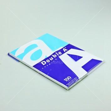 Double A กระดาษถ่ายเอกสาร แพ็ค 100แผ่น 80แกรม A4 <1/1>