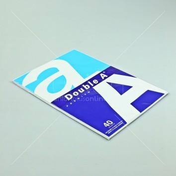 Double A กระดาษถ่ายเอกสาร แพ็ค 40แผ่น 80แกรม A4 <1/1>