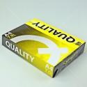 กระดาษถ่ายเอกสาร 70G A4 Quality เหลือง <1/500>